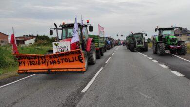 Photo of DK12/91 znowu blokują rolnicy z Agrounii