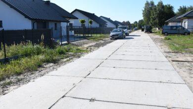 Photo of Ulica Zacisze utwardzona