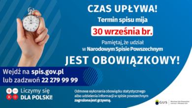 Photo of Gorzkowice: Ostatnia szansa na wzięcie udziału w spisie powszechnym