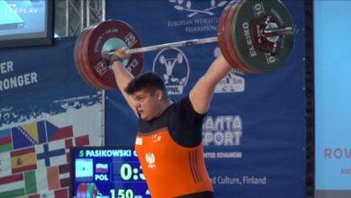 Photo of Olaf Pasikowski z gminy Sulejów brązowym medalistą Europy w rwaniu