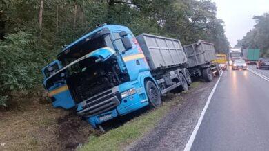 Photo of Ciężarówka w rowie
