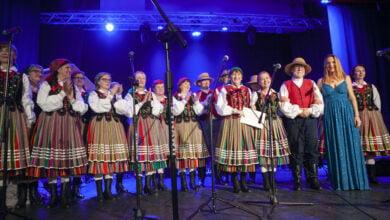Photo of Zespoły ludowe wystąpiły w Wolborzu