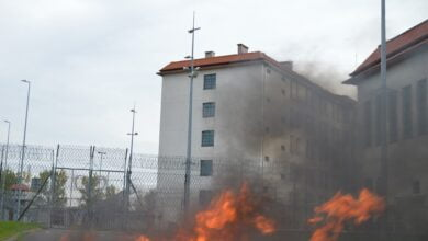 Photo of Bunt i pożar w Areszcie Śledczym… – ZDJĘCIA